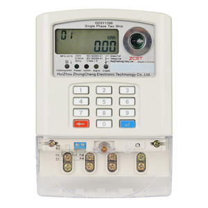 China Single-phase Keypad Prepaid Meter Supplier